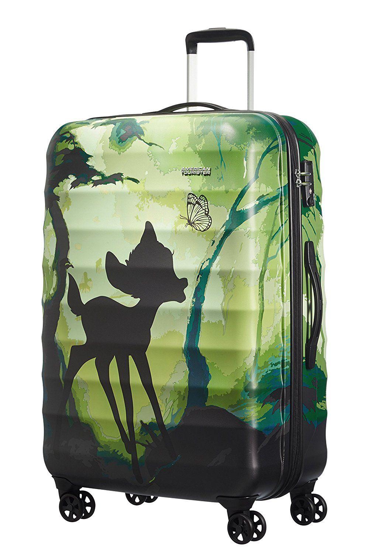 51fc959b7 Disney Suitcase, BAMBI (Green) - 67837/4784: Amazon.co.uk: Luggage ...