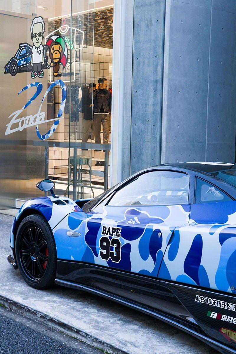 Horacio Pagani Talks Creating Camo Covered Sports Cars With Bape Sports Car Brands Covers Sports Pagani
