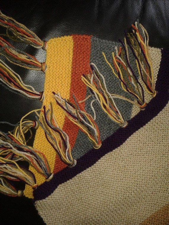 Dr Who 4th Doctor Geek Scarf 12 Foot Approx 12th Season Photo Prop Replica Cosplay Item Gift For Men Doctor Who Scarf Vegan Friendly Doctor Who Scarf Mens Gifts Etsy Scarves
