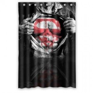 Superman Shower Curtain Superhero Bathroom Bathroom Themes