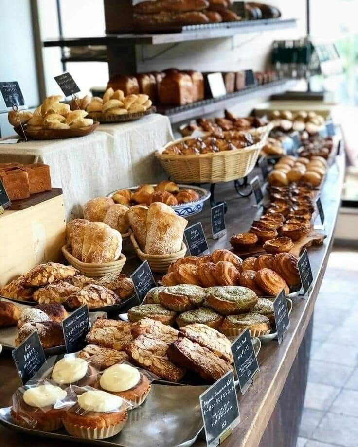 Pin de Den en Интерьер пекарни en 2020 Panaderia y