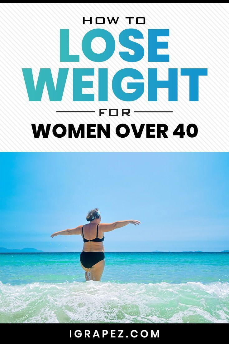 Learn how to lose weight for women over 40. #weightlosstips #fatloss #fitness #iGrapez