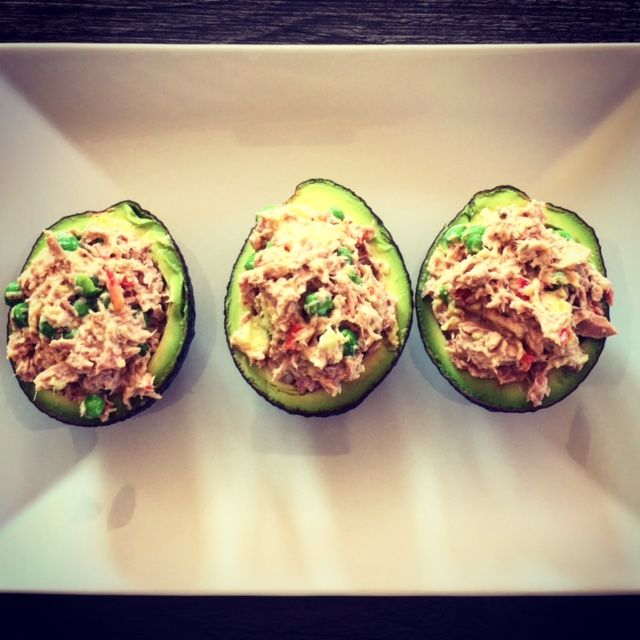 Tuna Avocado Cups with notes on how to make them WLC-compliant on every level!