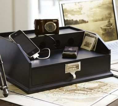 Pottery Barn Charging Station | For the Home | Pinterest ...