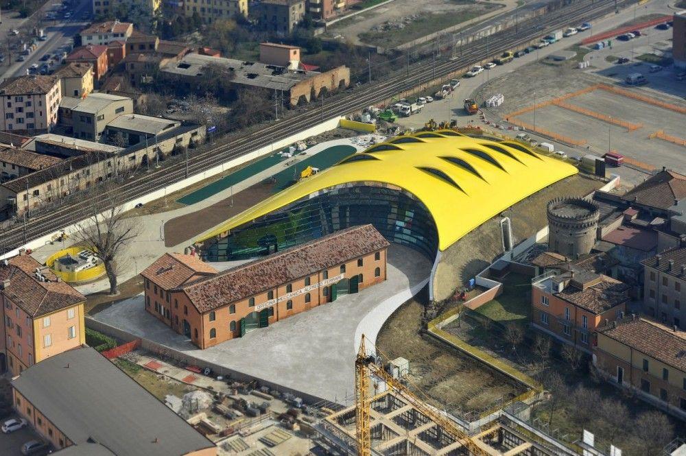 Enzo Ferrari Museum in Modena, Italy / by Future Systems & Shiro Studio