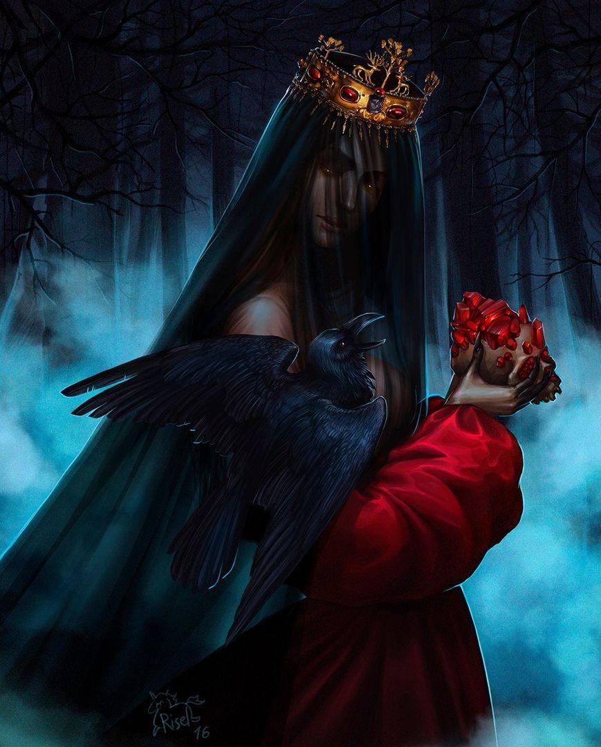 картинки фэнтези темная королева