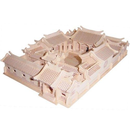 Drevené 3D puzzle Cisársky palác