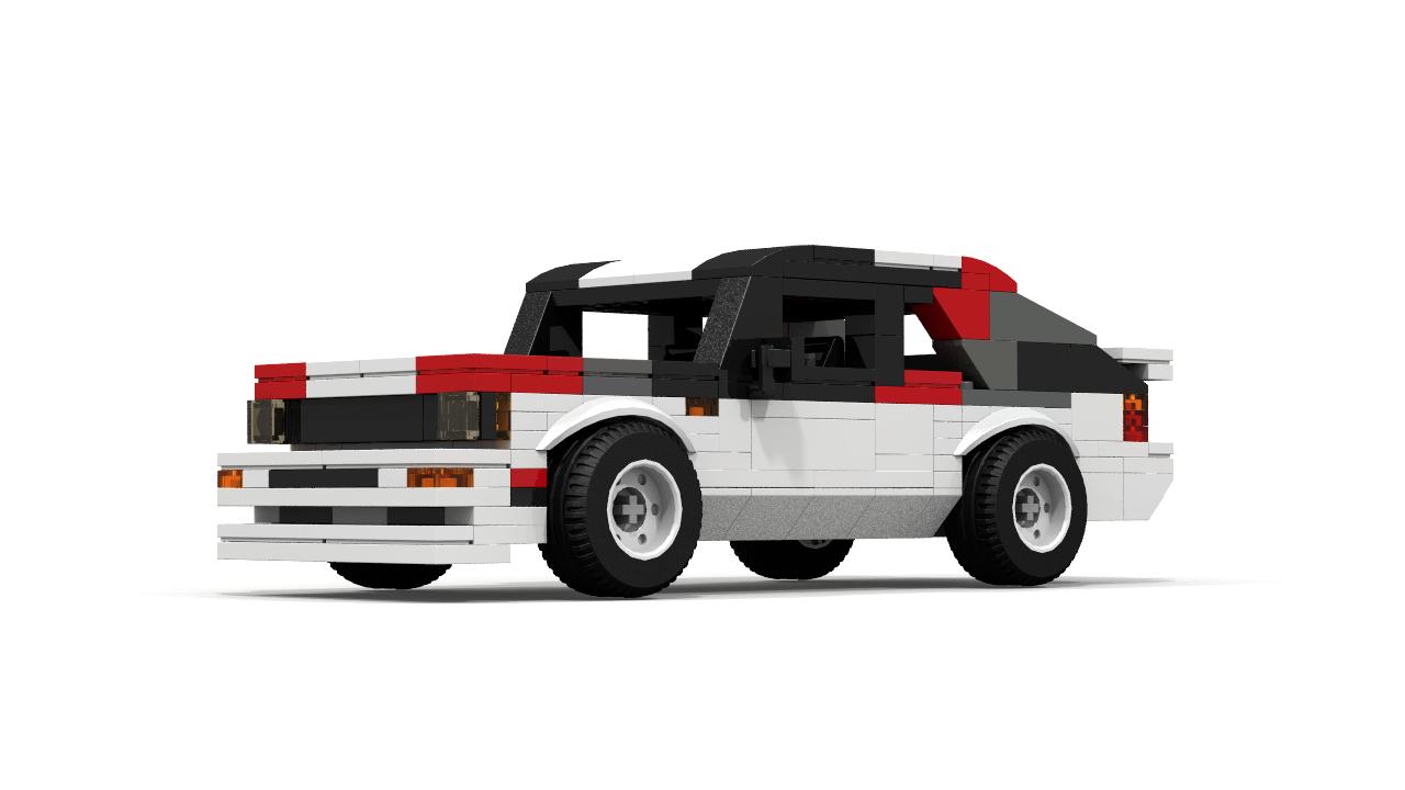 Custom Lego Audi Quattro Rally Car Building Instructions Lego