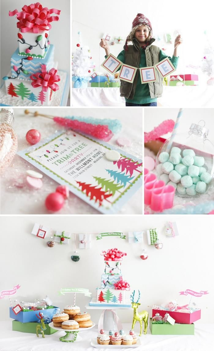 Trim The Tree Christmas Party Planning Ideas Supplies Idea Cake ...
