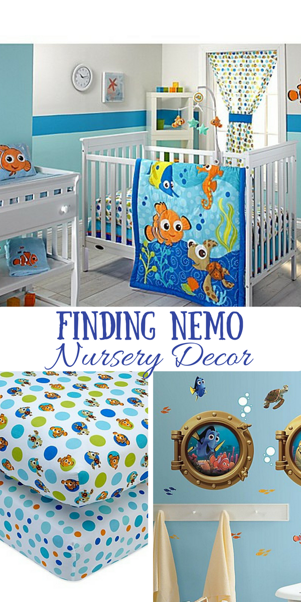 Find Nemo Nursery Bedding Set And Decor Includes Crib Sheets Curtains Blanket Ad Baby