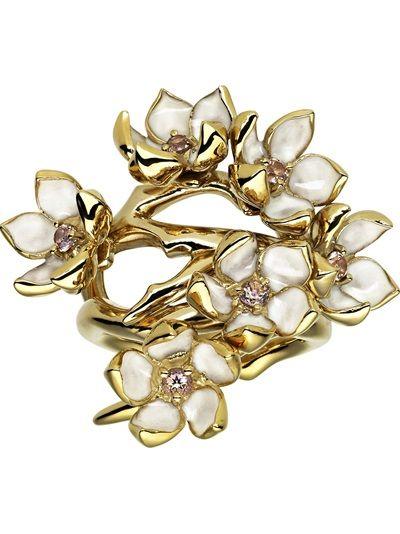 SHAUN LEANE 'Cherry Blossom' Ring