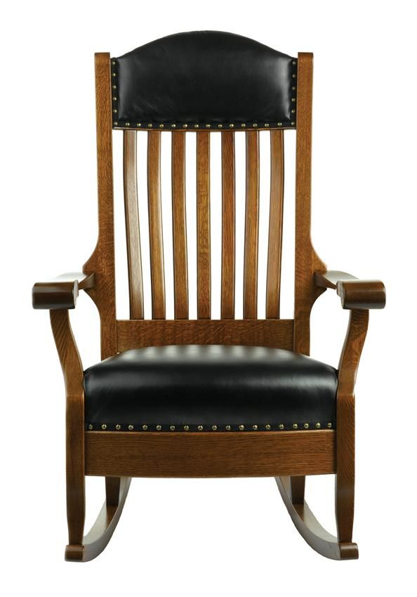Amish Shackleton Wide Rocking Chair Wide Rocking Chair Wood