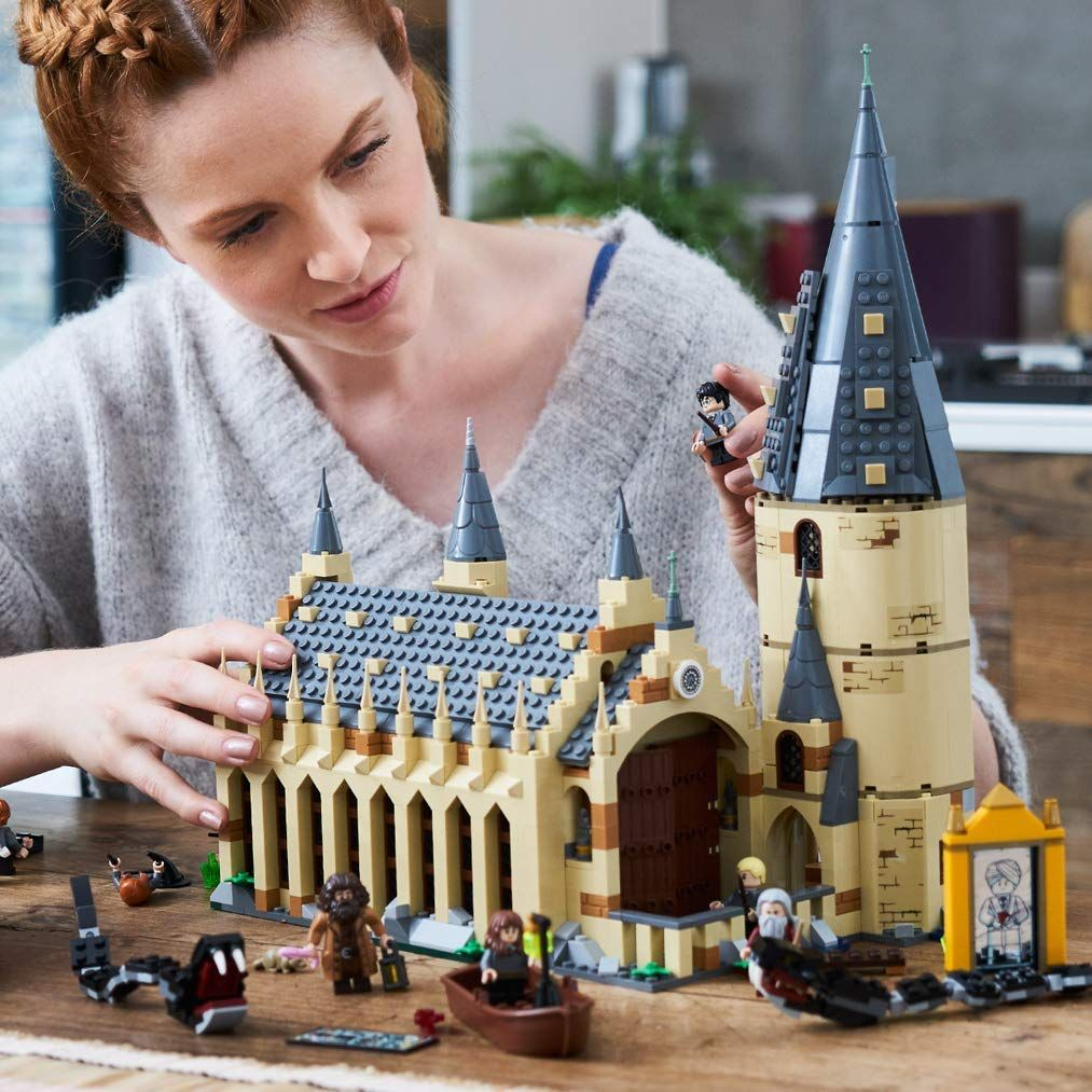 Lego 75954 Harry Potter Hogwarts Great Hall Toy Wizarding World Fan Gift Build Harry Potter Party Games Harry Potter Kids Harry Potter Parties Food