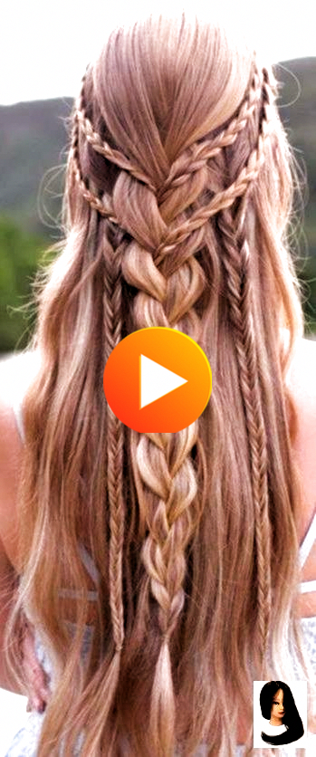#Amazingly #awesome #Braided #Curly Hairstyles for prom #Hair #Hairstyles #Long #Trendy 40 Trendy Br