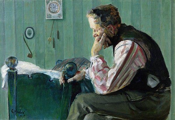 Christian Krohg 1852 1925 Portrait Of Terje Vigen Portrait Art Portrait Painting Art