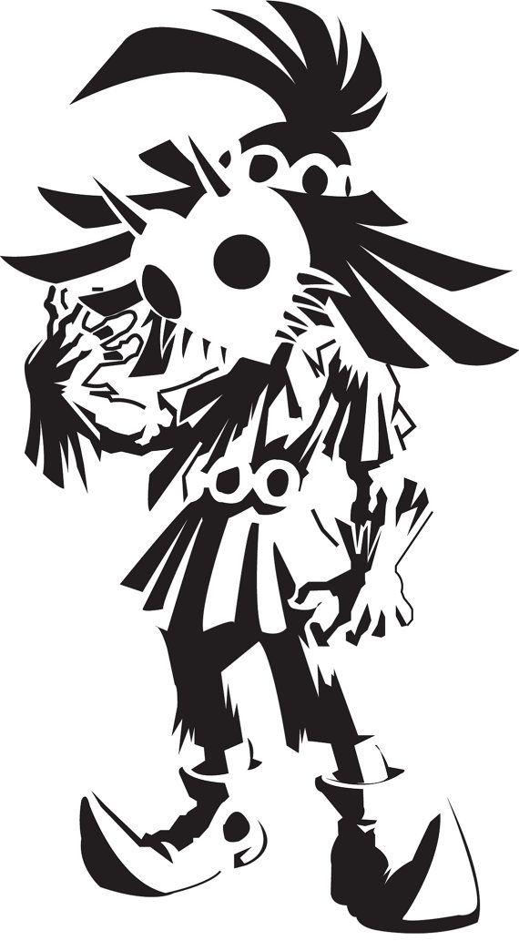 Legend of Zelda Skull Kid Wall Vinyl Decal Home Decor | Pinterest ...