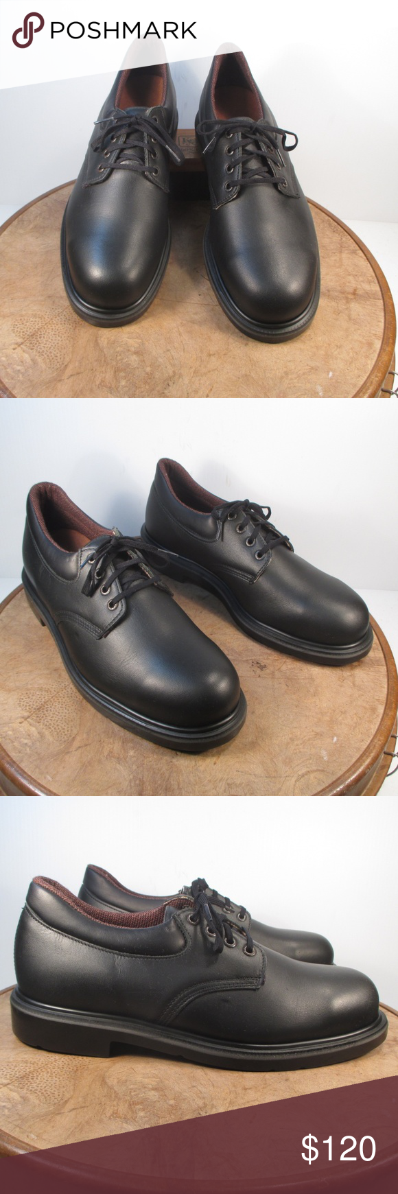Red Wing 4408 Black Leather Oxford 9 D New without box