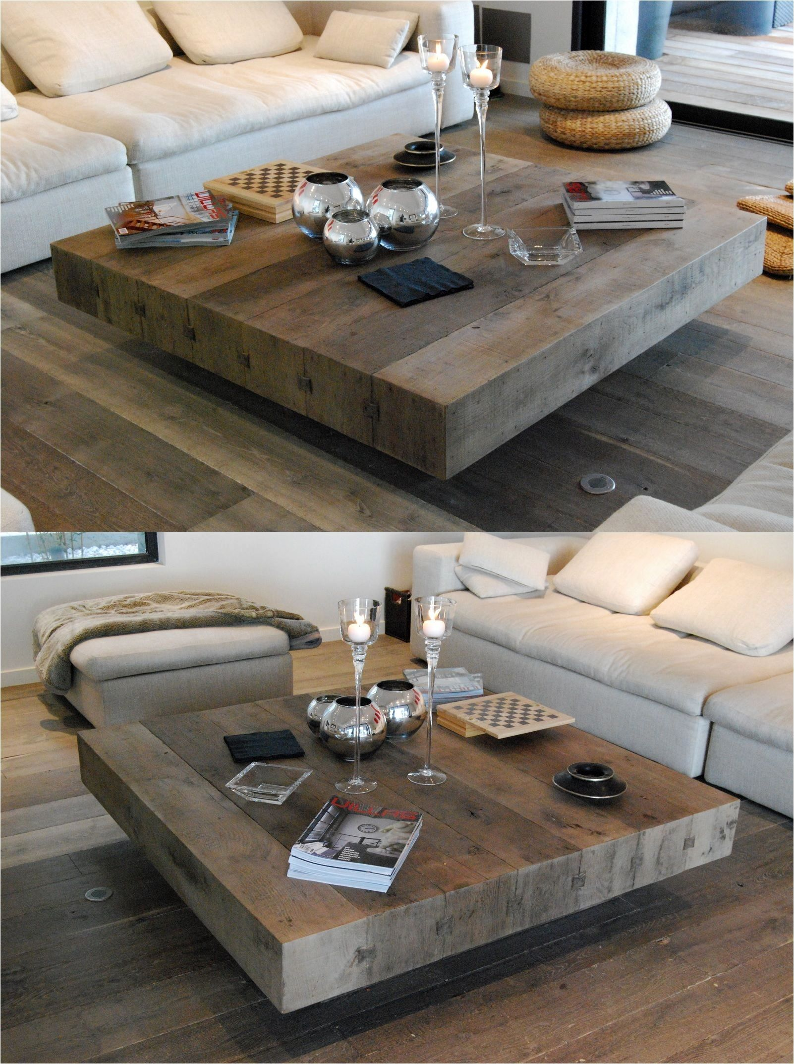 Easy Diy Coffee Table Square Wooden Coffee Table Rustic Coffee Tables Coffee Table Wood [ 2145 x 1602 Pixel ]