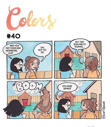 Carol Rossetti | Colors
