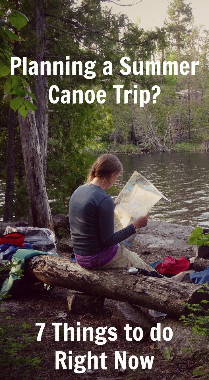 Photo of Summer Boundary Waters Quetico Canoe Trip Planning