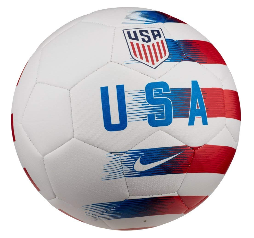 We Found The Perfect Soccerball For Uswnt Usmnt Supporters That Would Prefer It In White Soccer Football Futbol Soccer Ball Nike Soccer Ball Soccer