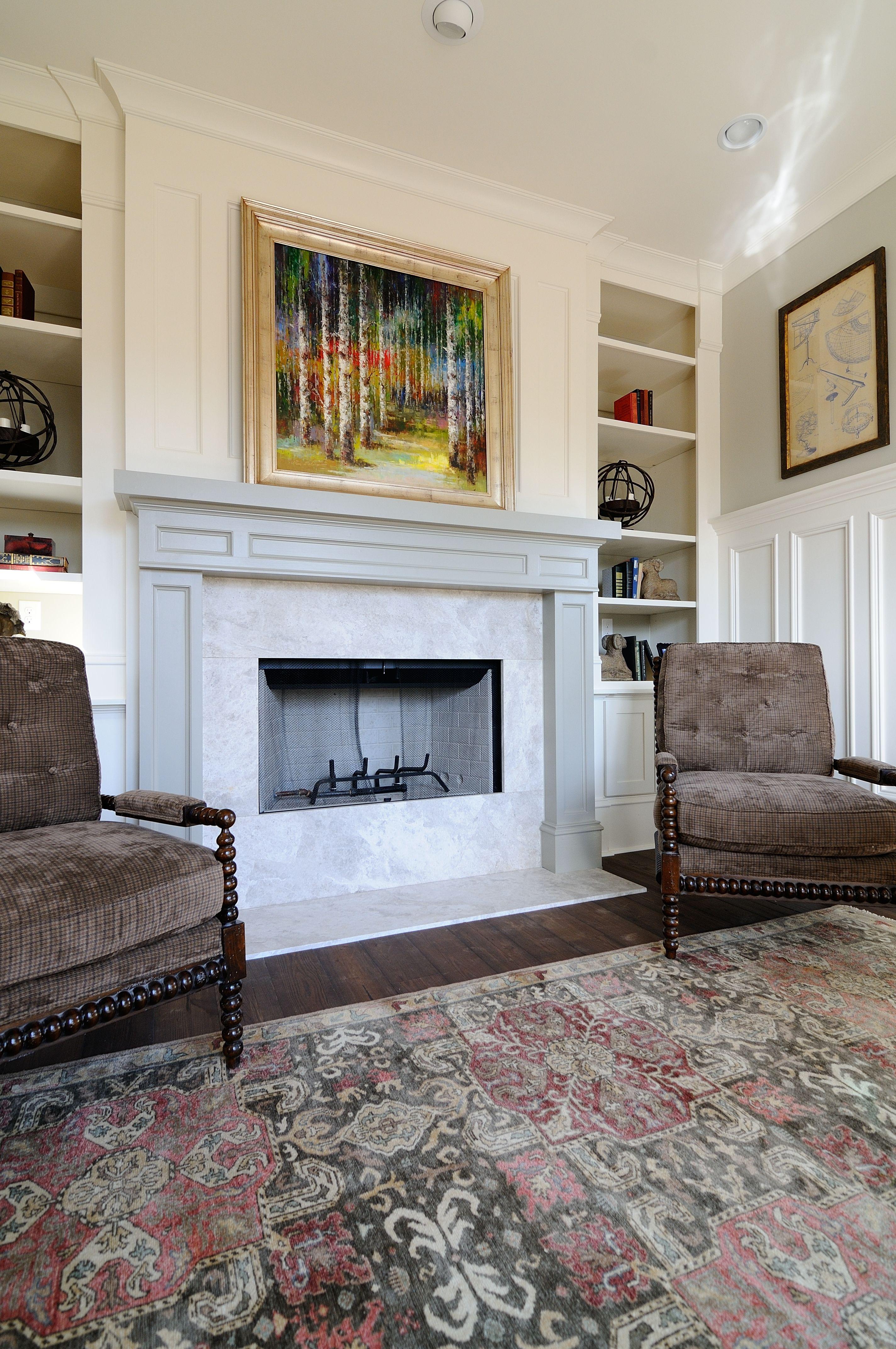 Torquay Living Room Hearth By Atlanta Kitchen