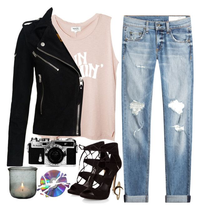 """""""Something Different"""" by jlol ❤ liked on Polyvore featuring rag & bone, Superdry, Lulu Frost and Nikon"""