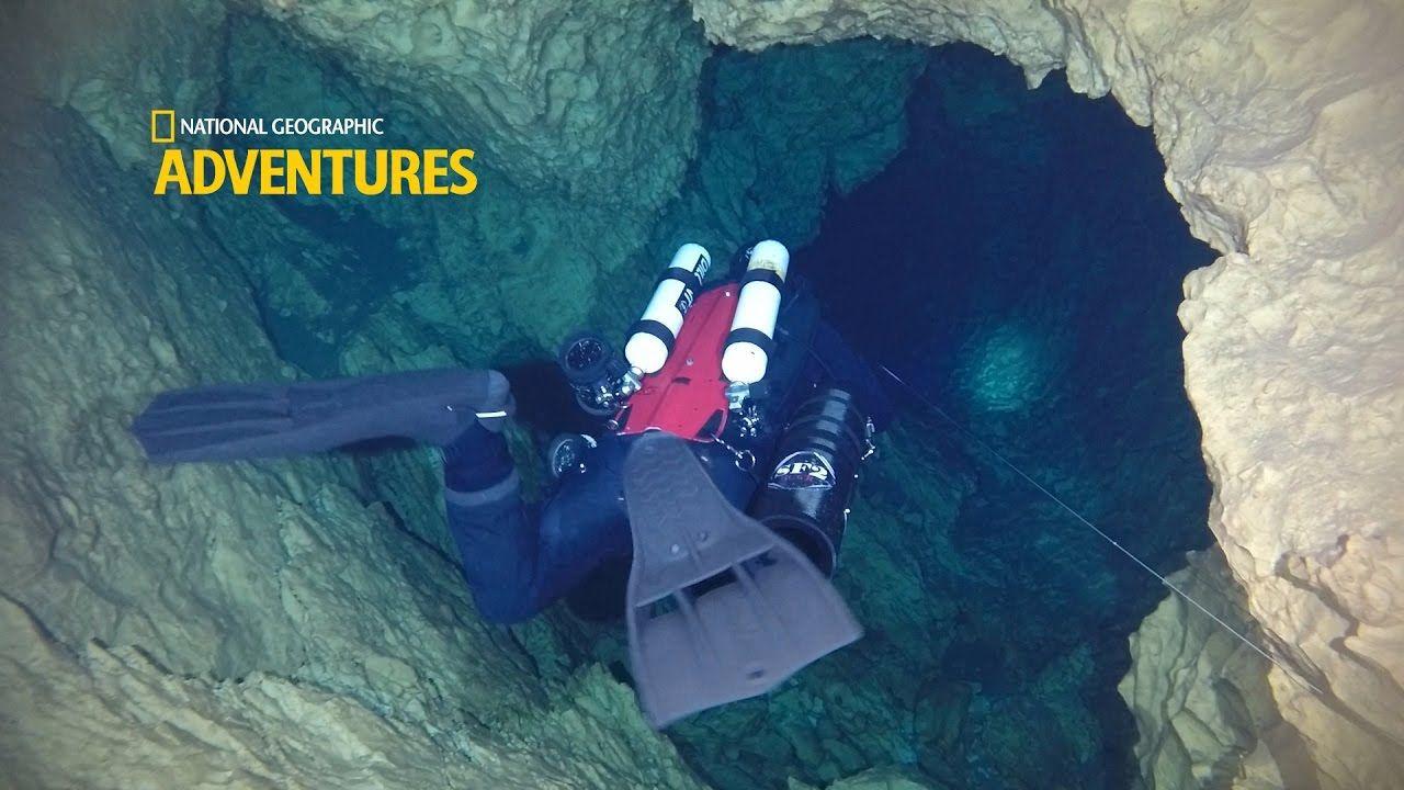 Cave Diving Exploring Bel Torrente Cala Gonone Sardinia