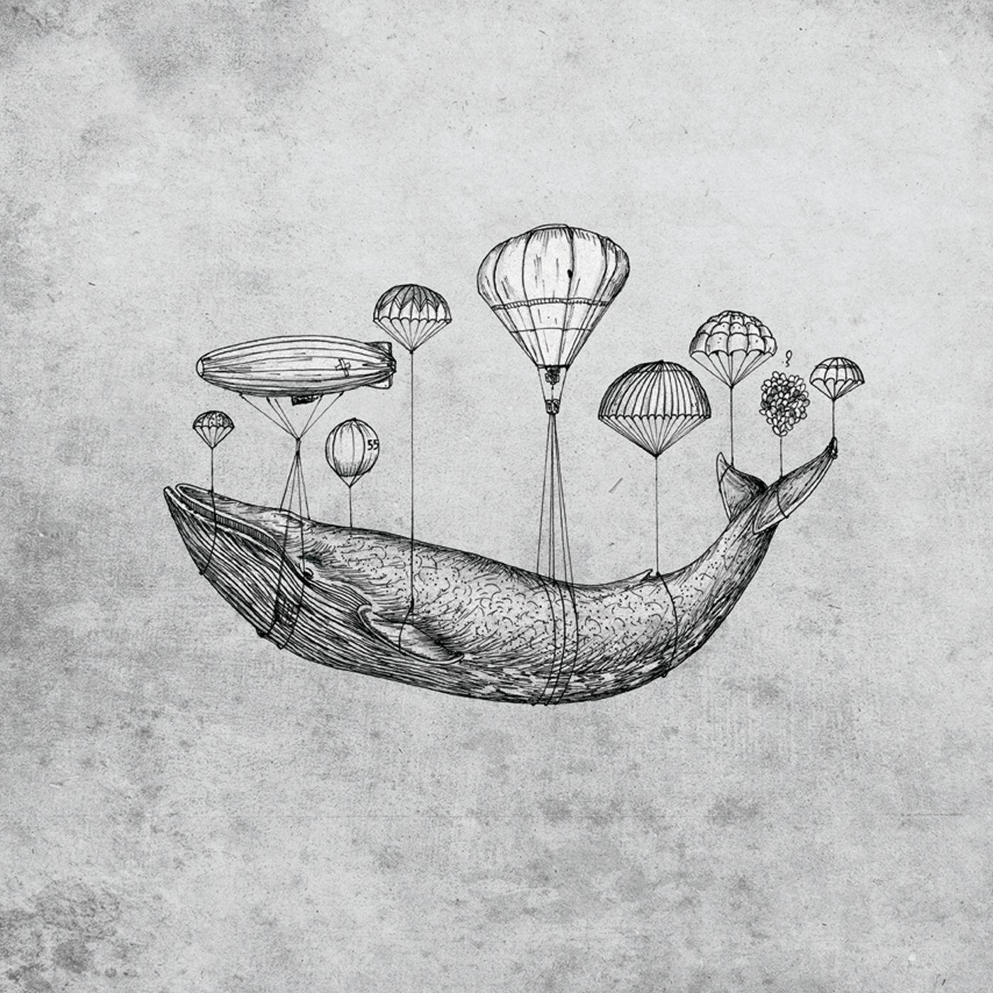 Картинки кита в стиле тумблер