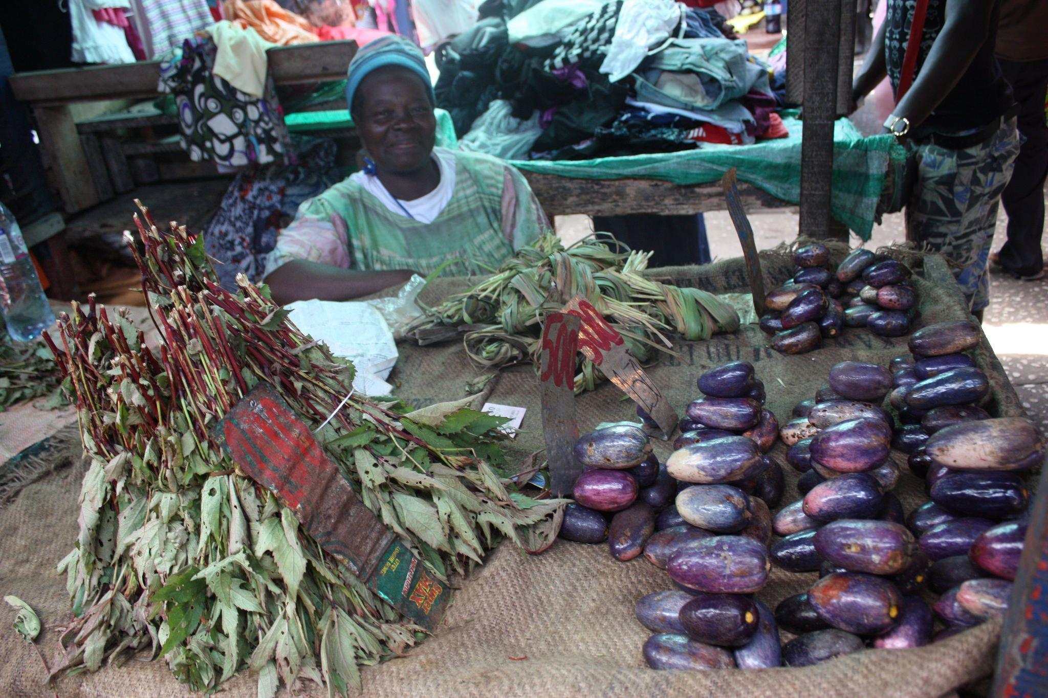Le Grand Marche De Pointe Noire Congo Africa Online Photo