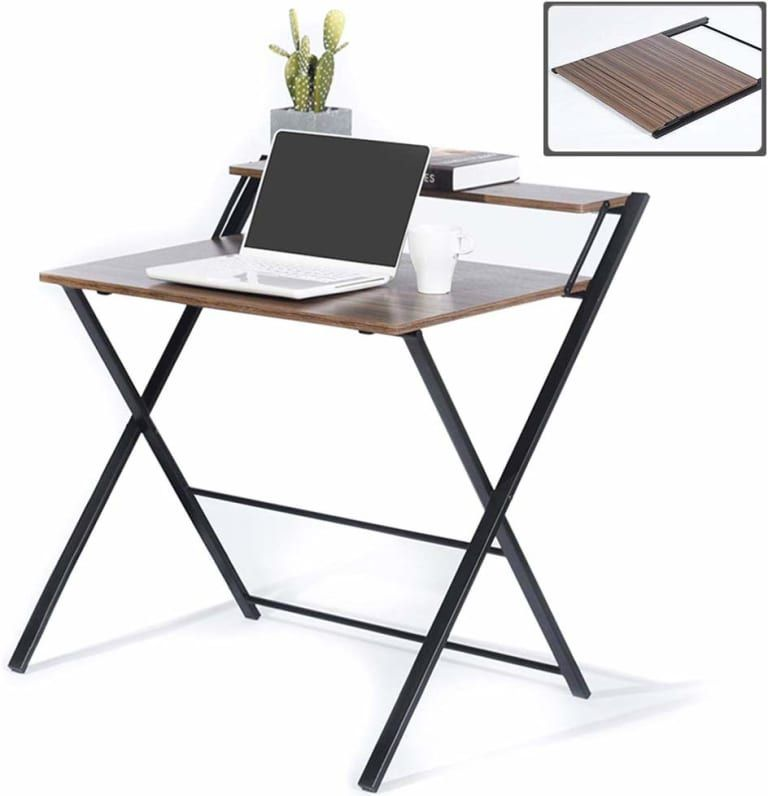7 Foldable Furniture Pieces That Will Make Your Life So Much Easier Desks For Small Spaces Folding Desk Foldable Furniture Folding desks for small spaces