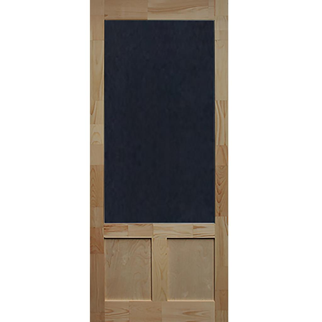 Screen Door Wood Elmwood 1 3 8 In Thick Screen Door Aluminum Screen Doors Doors Interior