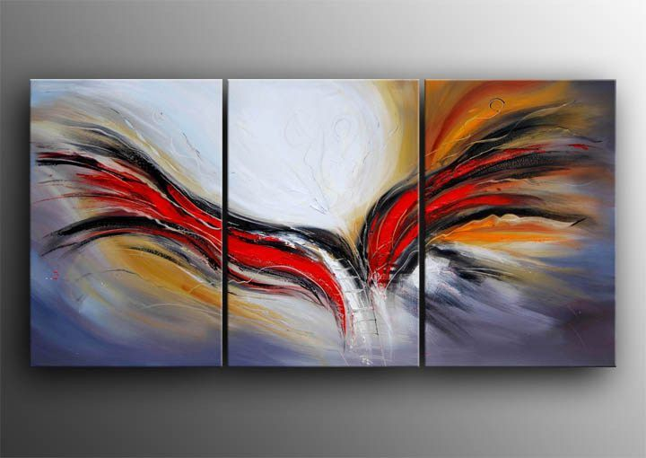 Canvas Painting Ideas For Beginners | ... Painting Modern Abstract Canvas  Art Canvas Painting