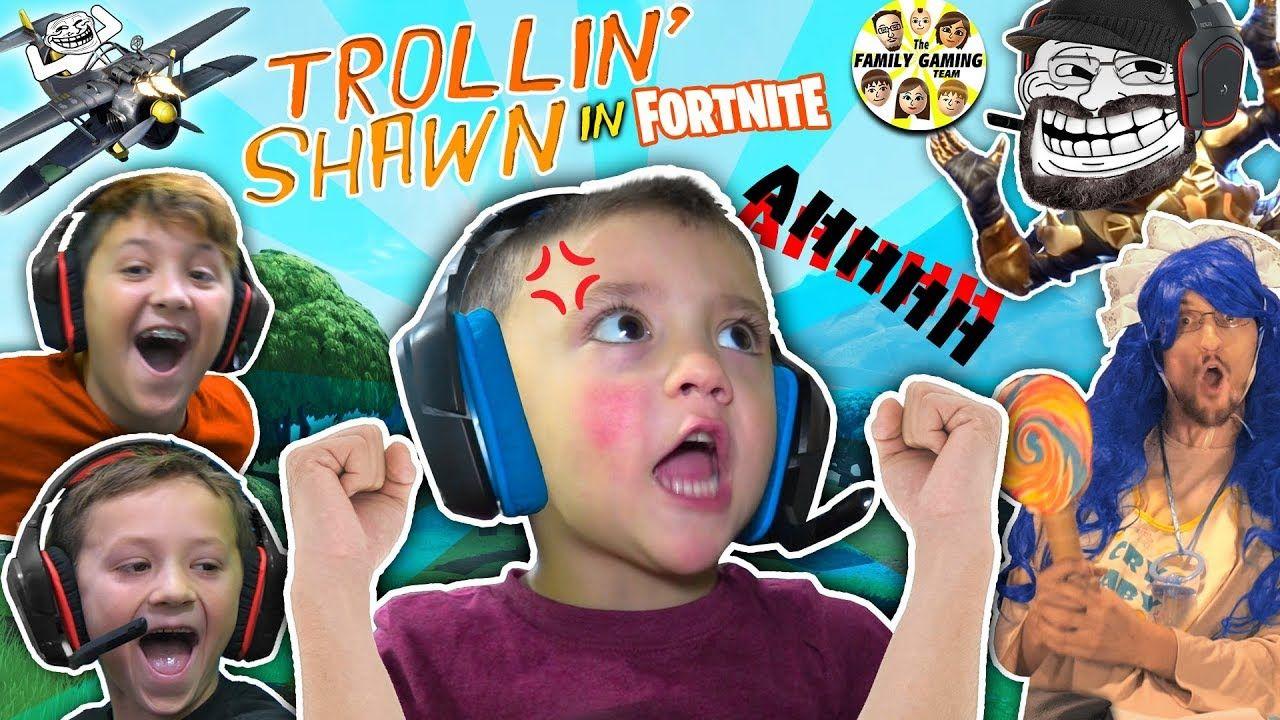 3 Year Old Shawn Master Of Fortnite Fgteev Trollin Haha Big Baby Youtube Fortnite How Big Is Baby 3 Years Old
