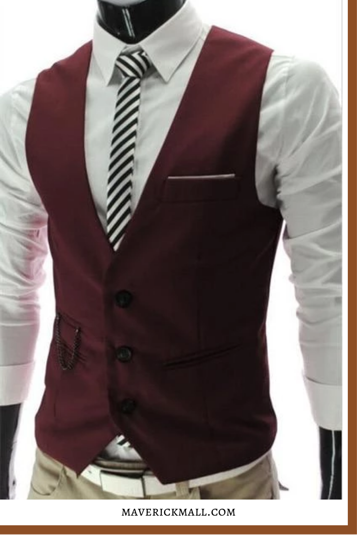 New Style Dress Vests For Men Slim Fit Mens Suit Vest Male Waistcoat Herren Anzug Weste Kleid Weste Mann Im Anzug [ 1102 x 735 Pixel ]