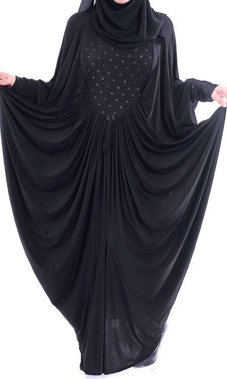 Luxury Black Butterfly Abaya Dress Casual Full Length Long Sleeve One Size Butterfly Abaya Abaya Designs Abaya Dress