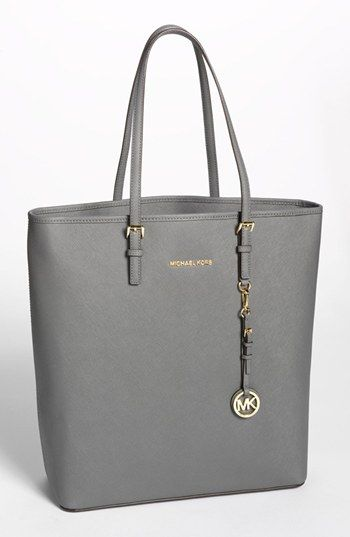 d924dae51d5e MICHAEL Michael Kors 'Jet Set - Travel' Saffiano Leather Tote, Extra Large  | Nordstrom