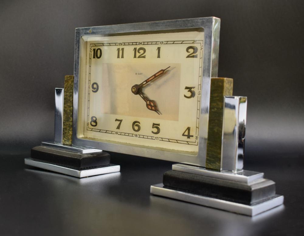 Pin By John David On Decor In 2020 Mantle Clock Art Deco Clock Clock