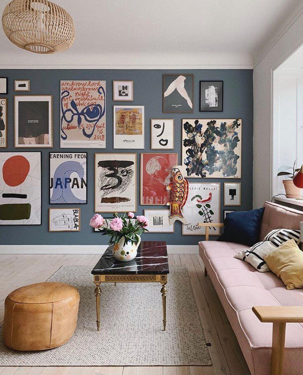 """Photo of #wohnzimmer designzoo.pl auf Instagram: """"Wir lieben Poster! Wir lieben es, wie sie unsere Innenräume… – Wohnzimmer"""