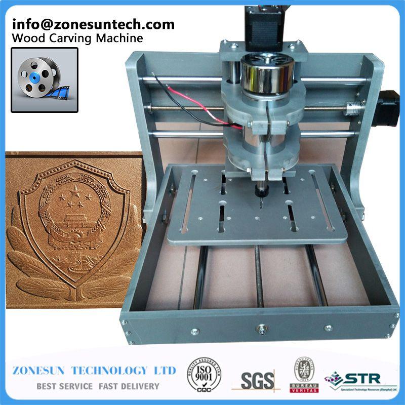 2016 new PCB milling machine CNC 2020B DIY cnc wood carving