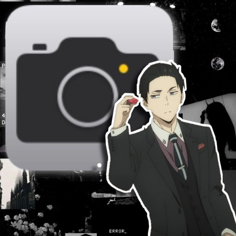 Daisuke Kanbe Camera Anime Cover Ikon Aplikasi Gambar Ikon