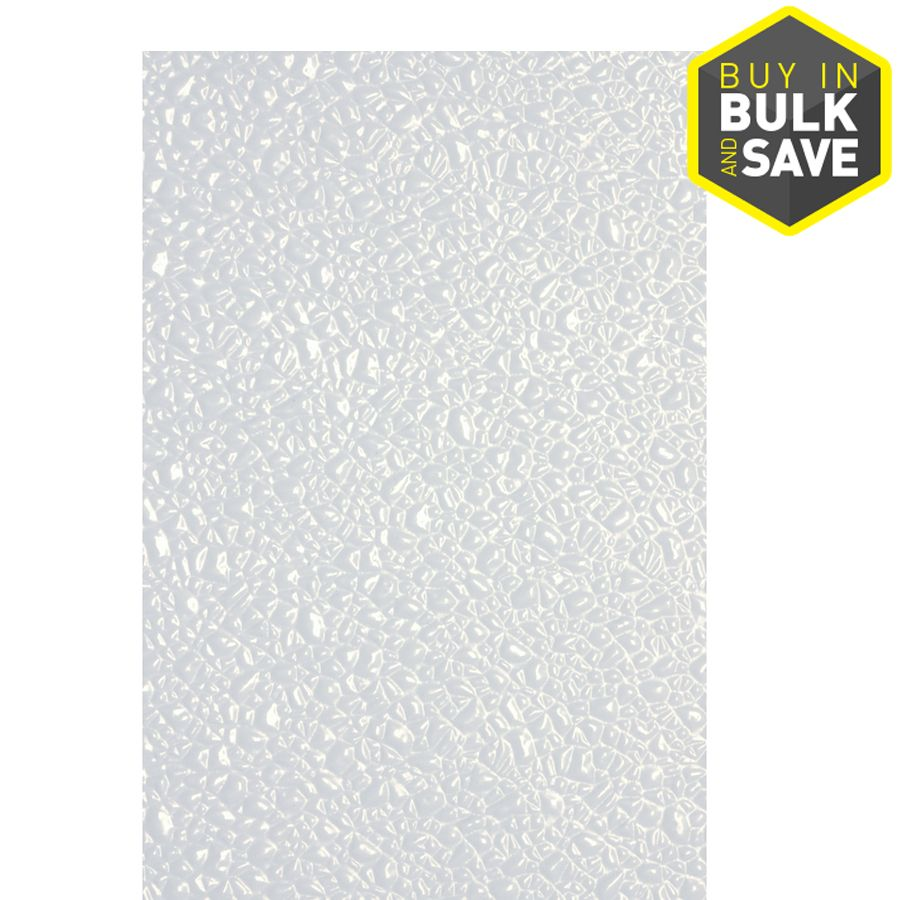 48 In X 8 Ft Embossed White Wall Panel Lowes Com White Wall Paneling Plastic Ceiling Panels Wall Paneling