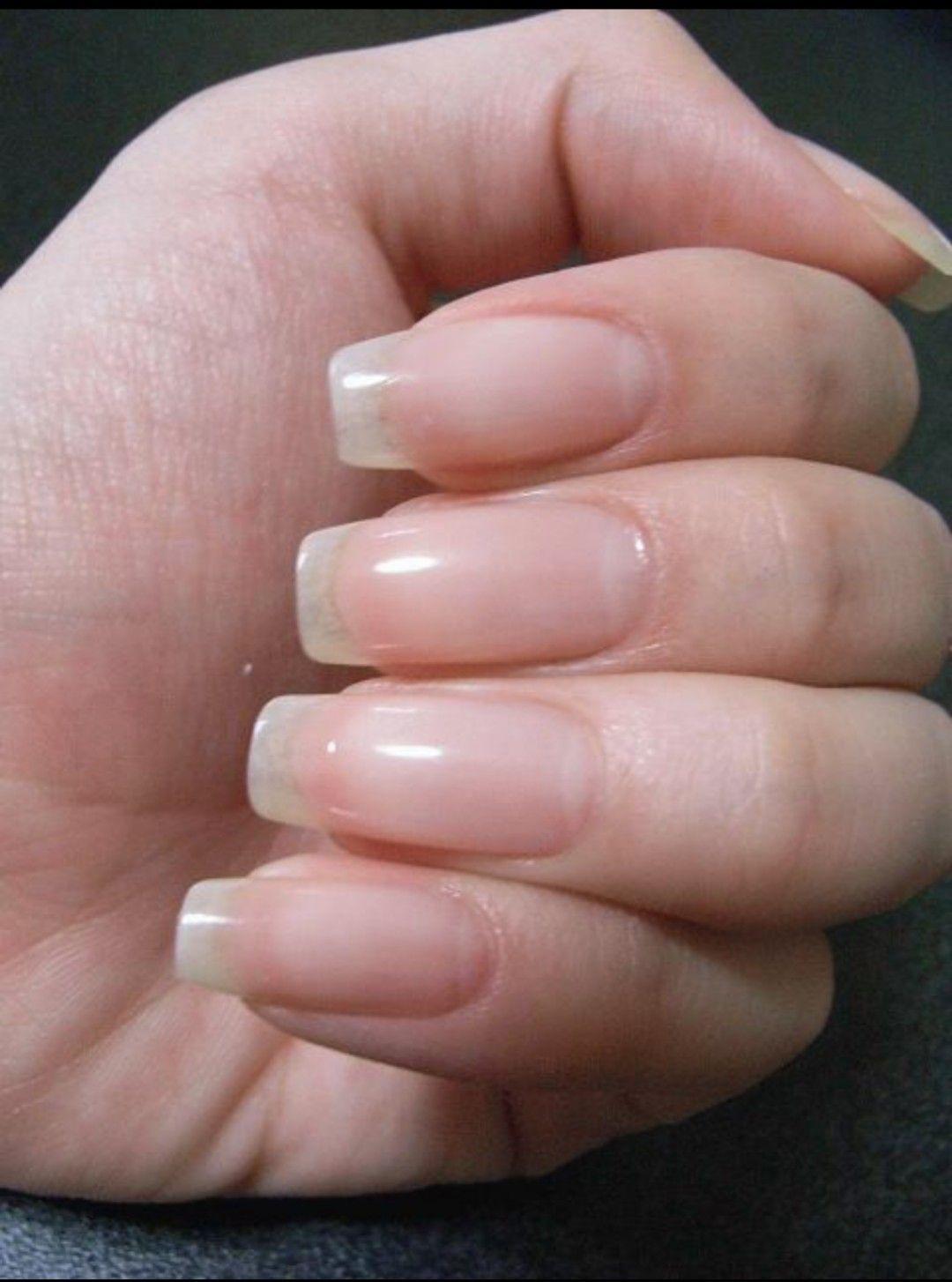 All Naturals : Photo | NAILS | Pinterest | Natural, Natural nails ...
