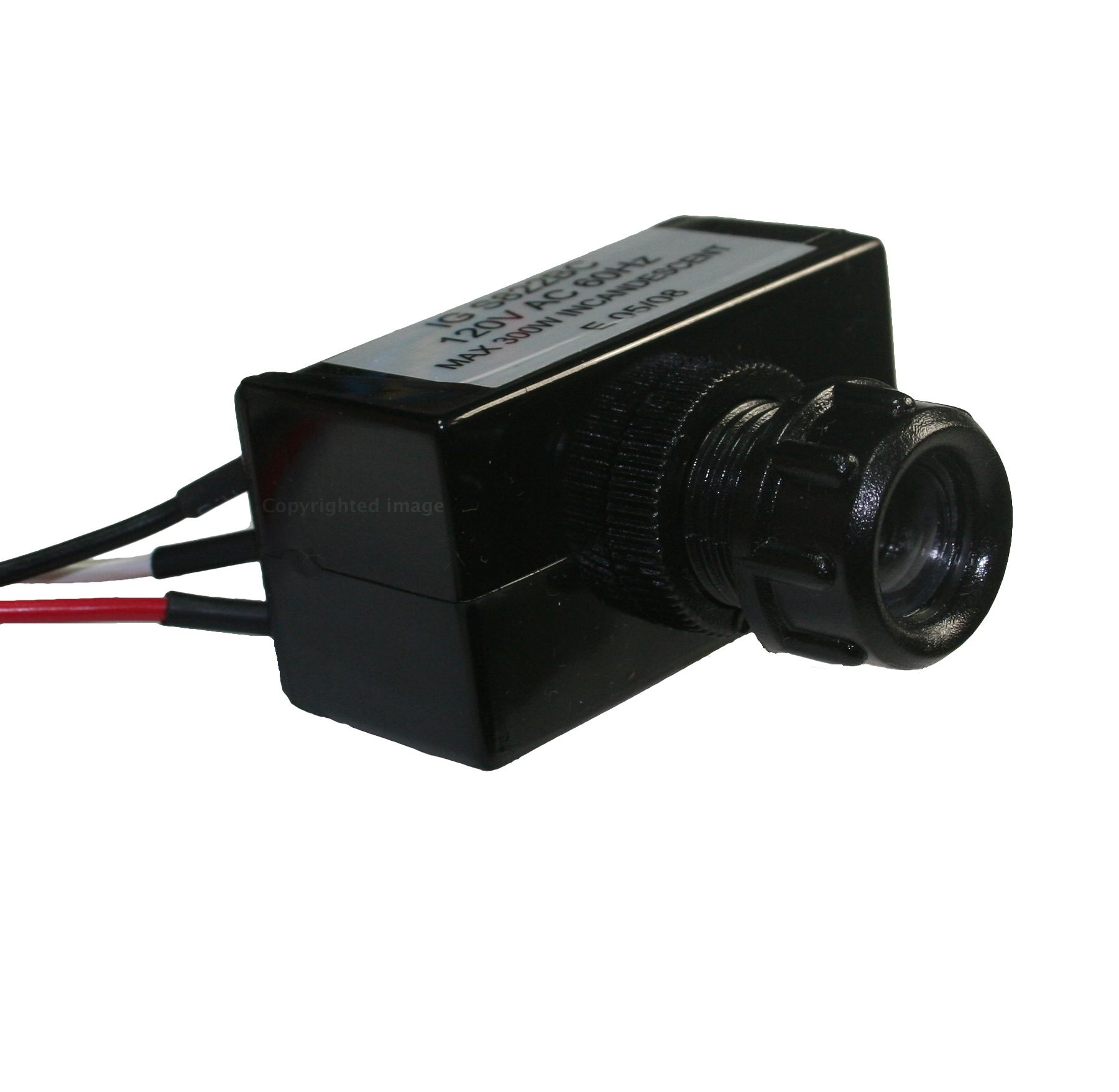 V outdoor dusk to dawn photocell control switch home