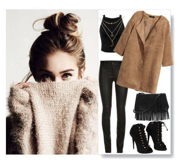 """""""Untitled #187"""" by effy-xo ❤ liked on Polyvore featuring Miss Selfridge, H&M, Giuseppe Zanotti, White House Black Market and Charlotte Russe"""