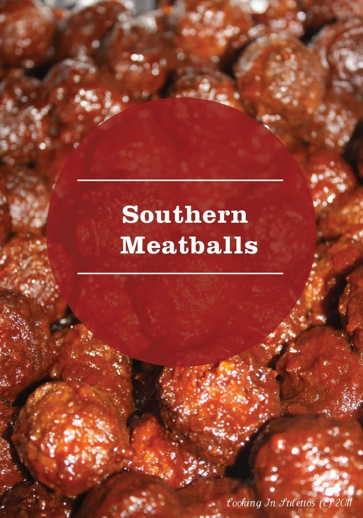 Southern Meatballs can be made with just a few pantry ingredients (including grape jelly) and will have dinner guests raving!