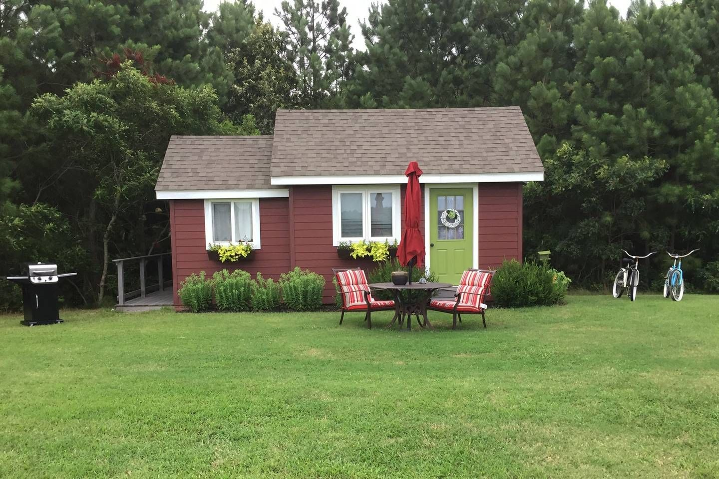 Little Red House Eastern Shore Va Tiny Houses For Rent In Accomac