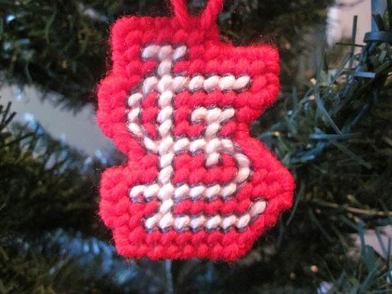 St Louis Cardinals Christmas Ornament In By Auntcccreations 250