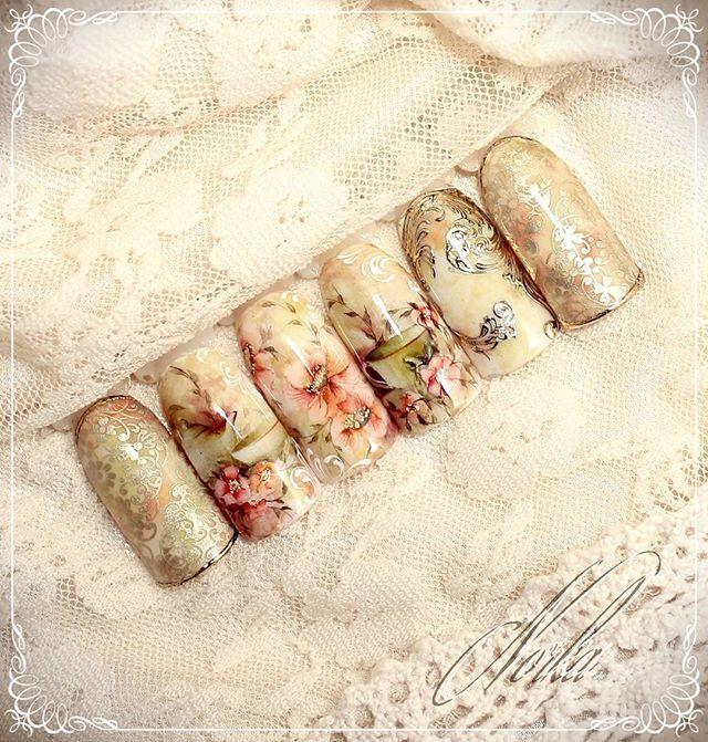 Flower hand painting, stamp, sticker. #moyrastamping#moyrastampingplate #moyrastamp#nailtrend#nailartist#nail#nailart#handpainted#naildesign#nailstamping#watercolournail#watwercoloupainting#aquarell