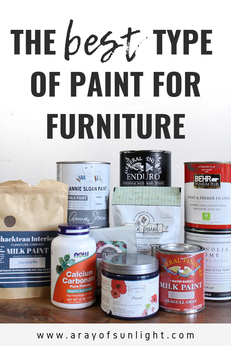 The Best Paint For Furniture Paint Techniques For All